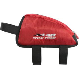XLAB Rocket Pocket Frame Bag red